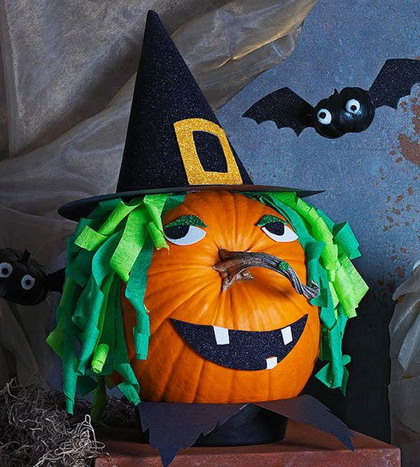 Witch Pumpkin.