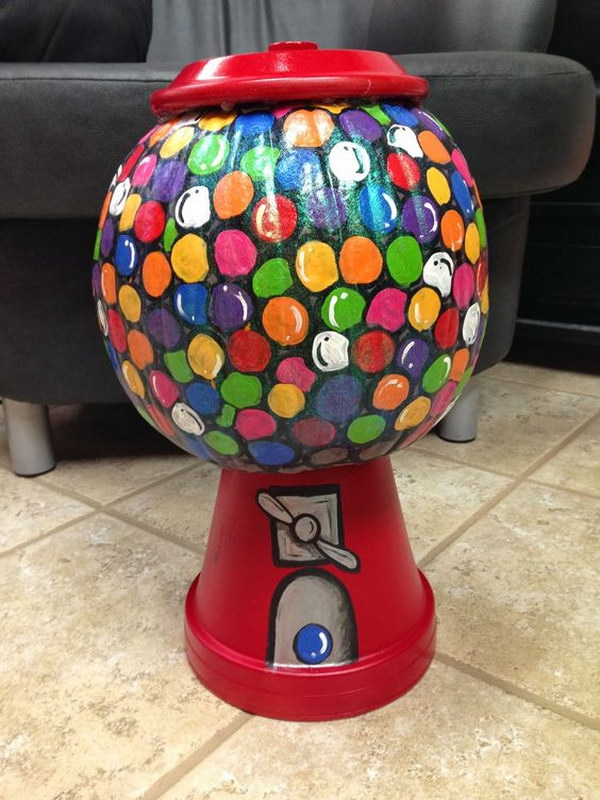 Gumball Machine Pumpkin.