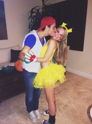 Ash & Pikachu.