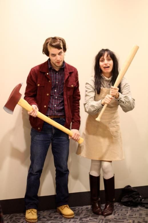 Jack and Wendy from The Shining.