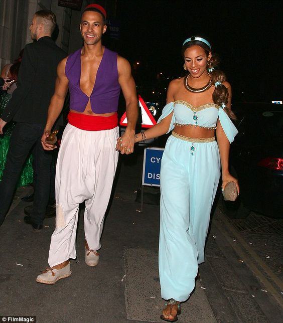 Aladdin and Jasmine Costumes.