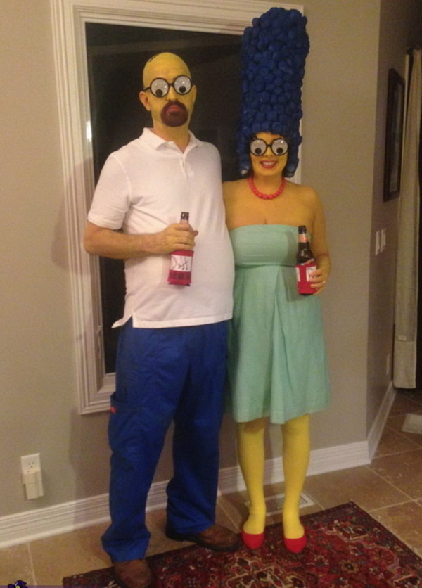 Simpsons Costume.