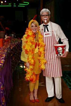 KFC Couple Halloween Costume.
