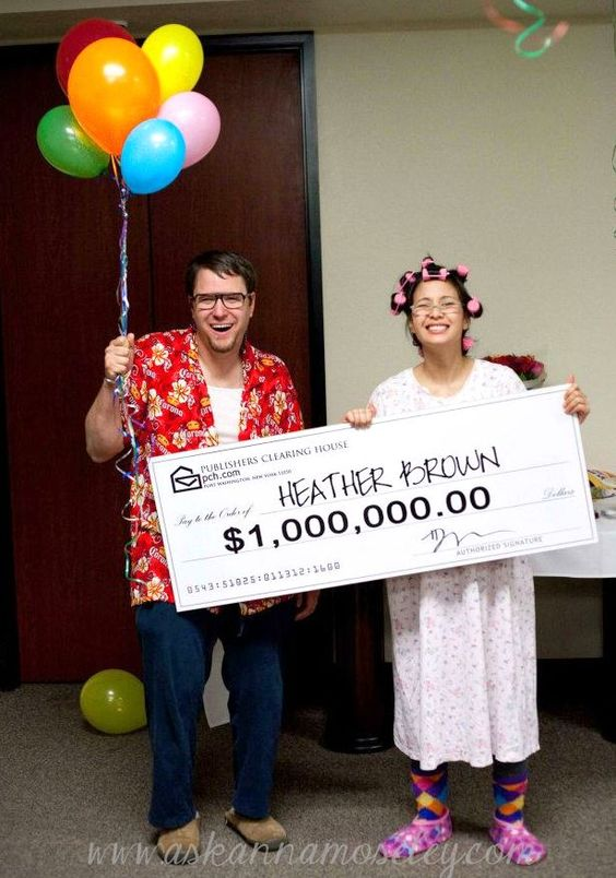Publishers Clearing House Costumes.