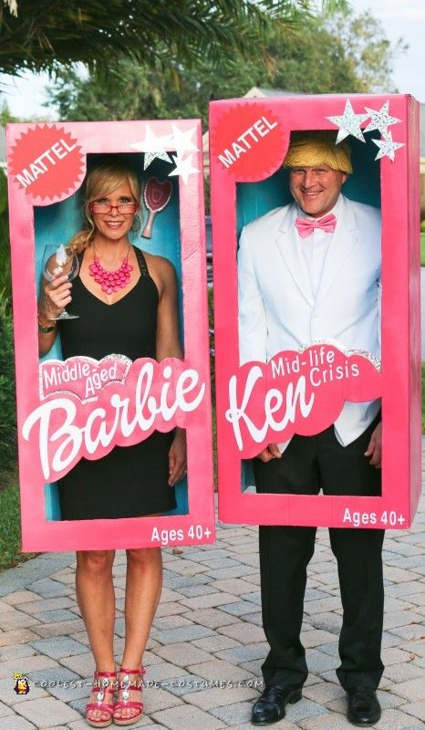 barbie and ken couples halloween costume