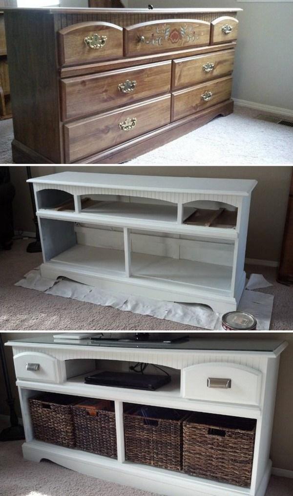 DIY TV Stand Makeover