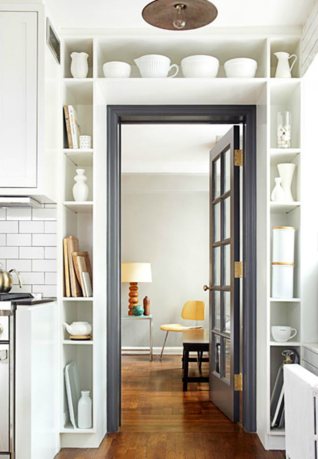 Make Use of the Space Around Door.