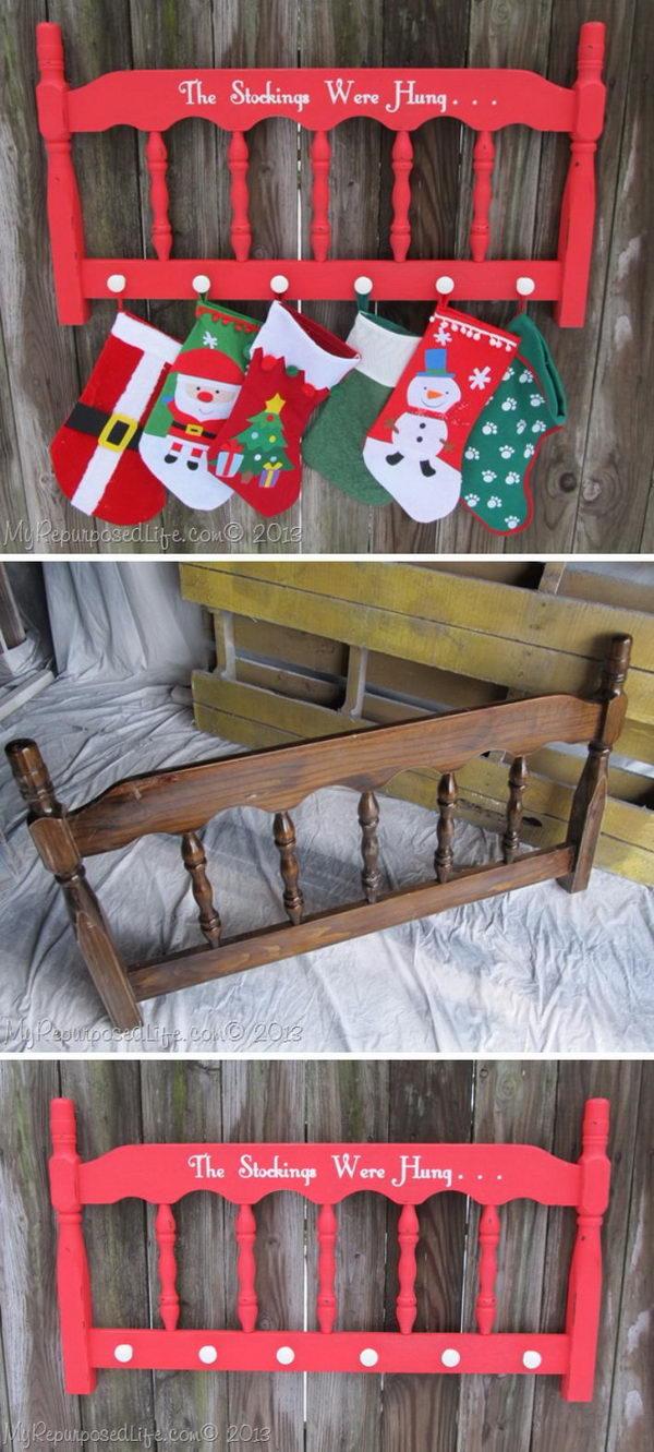 Christmas Stocking Hanger.