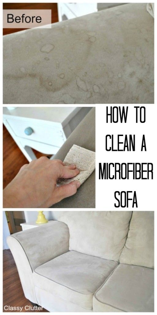 How to Clean Microfiber With Professional Results.