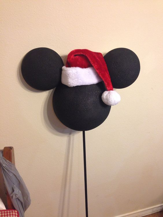 Mickey Mouse Christmas Tree Topper.