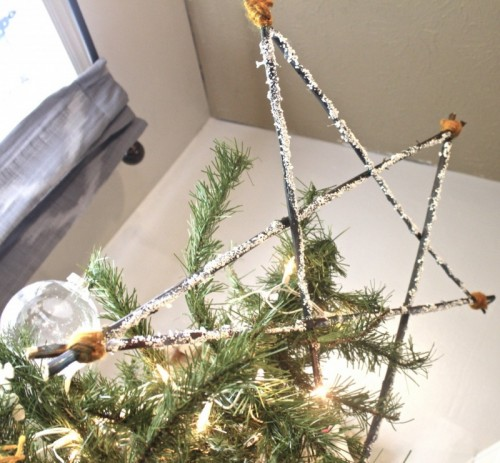 Rustic Star Tree Topper.
