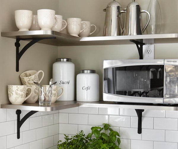 Inexpensive Kitchen Storage Ideas: 20+ Creative Kitchen Organization And DIY Storage Ideas