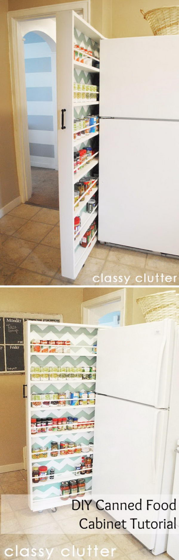 20+ Creative Kitchen Organization and DIY Storage Ideas - Hative