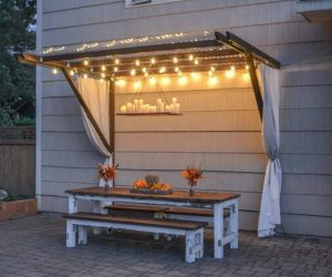 20 Awesome DIY Backyard Projects