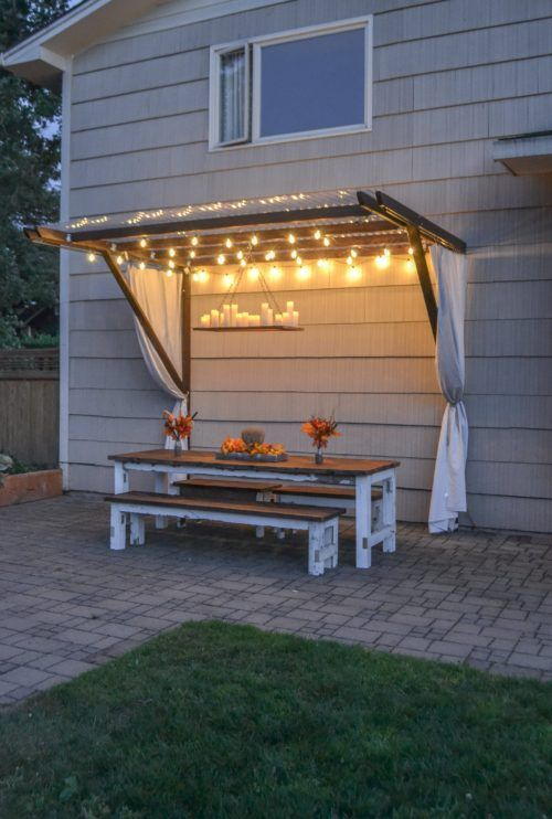 Looking to add some sophistication to your backyard well look no further this diy pergola is a frugal way to do just that youll love how simple it is