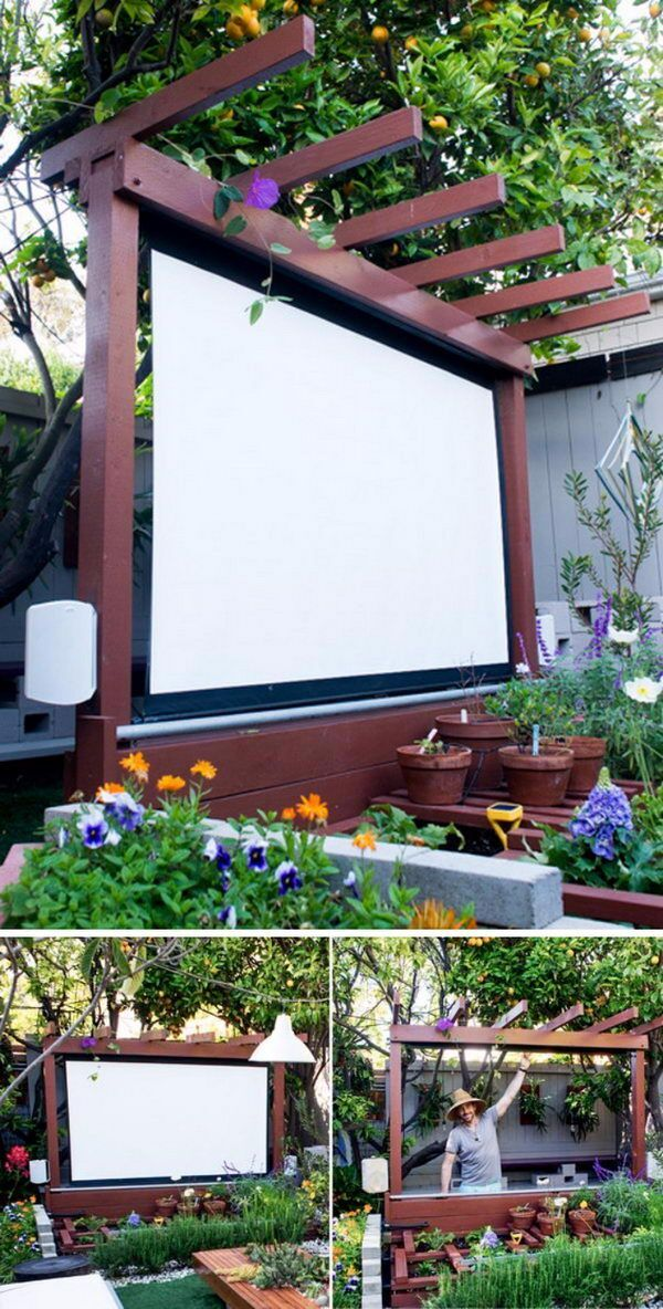 Beau Build An Outdoor Theater In Your Garden