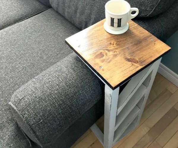 Easy Diy Console Table And Sofa