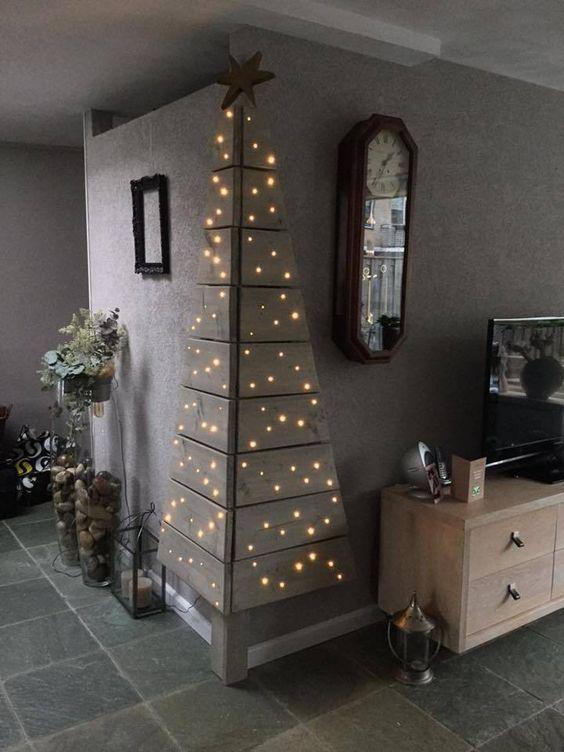 Corner Christmas Tree.