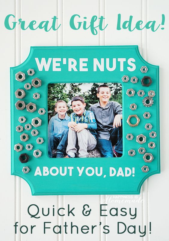 We're Nuts About You Photo Frame.