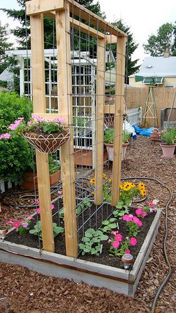 20 Awesome DIY Garden Trellis Projects Hative