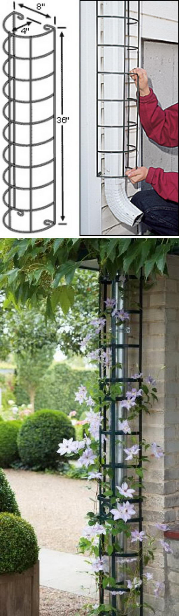 20+ Awesome DIY Garden Trellis Projects - Hative