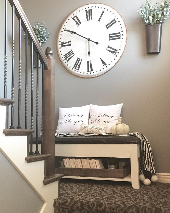 Wall Clock Decor.
