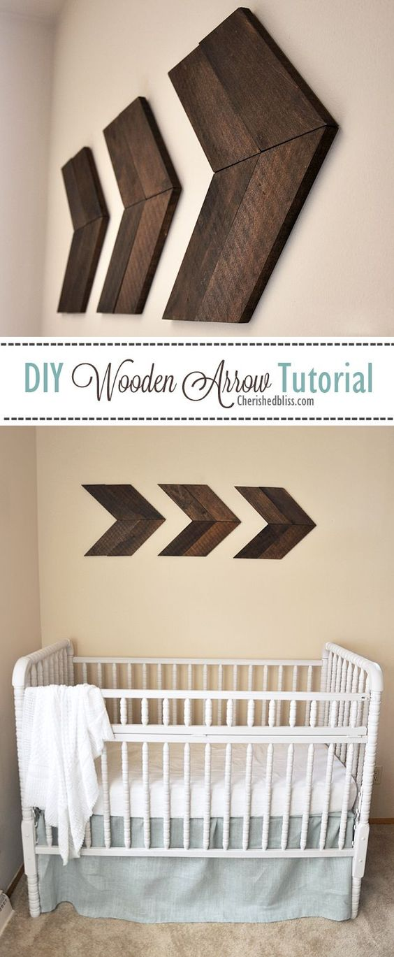 DIY Wooden Arrow.
