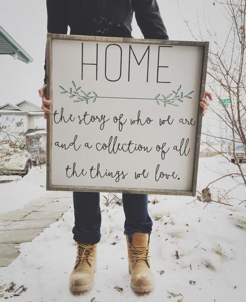 DIY Farmhouse Sign.