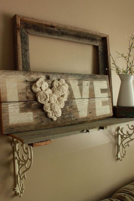 Rustic Wall Decor 40+ rustic wall decorations for adding warmth to your home - hative