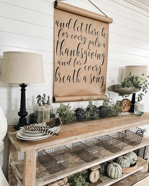 40 Rustic Wall Decorations For Adding Warmth To Your Home