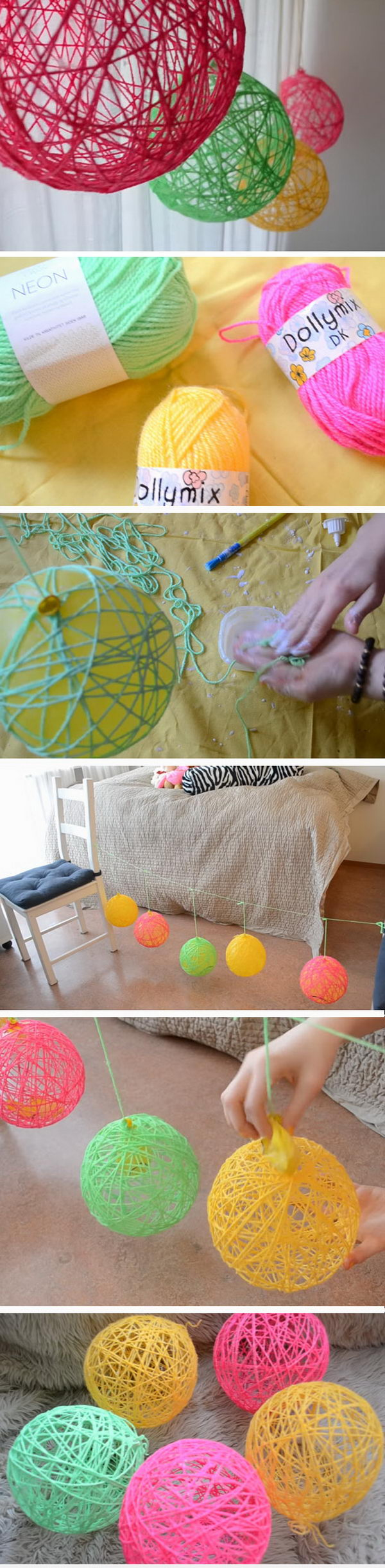 25 fun easy summer diy projects hative for Cool things to make with paper for your room