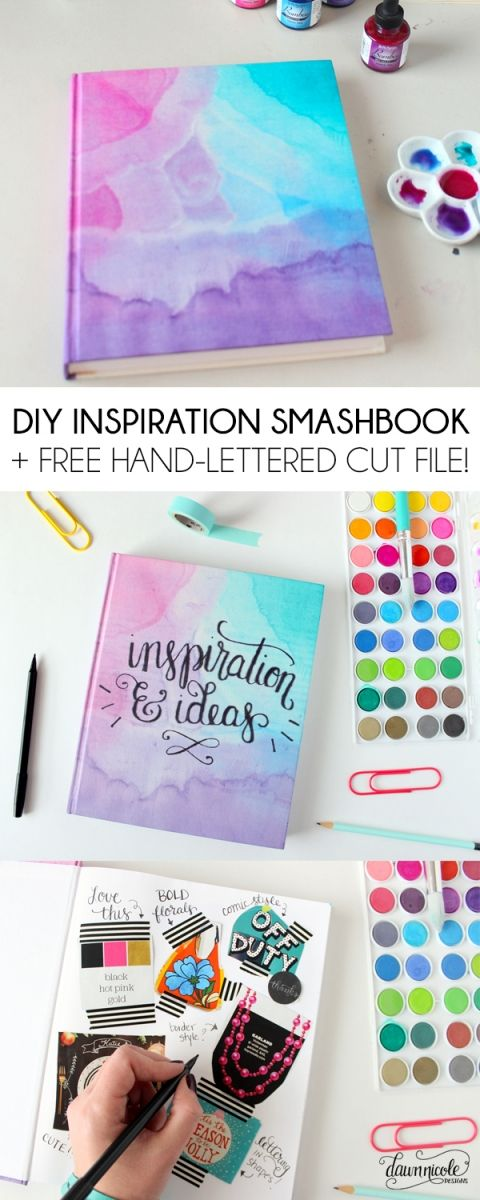 DIY Inspiration Smashbook.