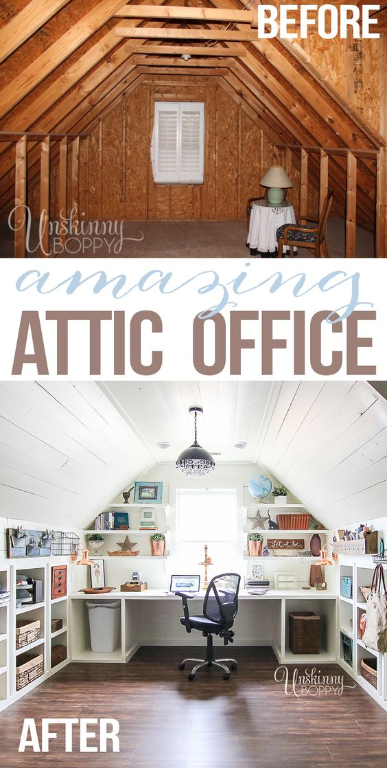 attic transformation ideas - 20 Clever Storage Ideas For Your Attic Hative