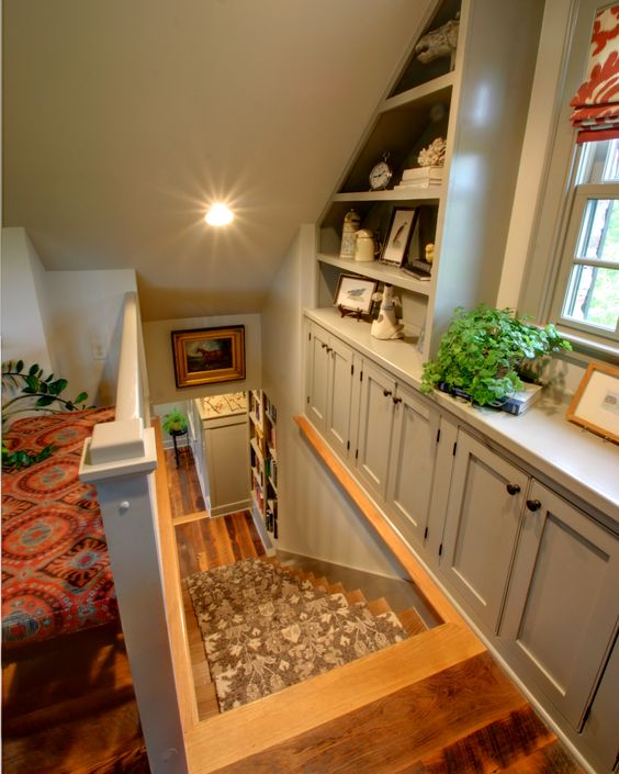 Create Extra Storage Space Against The Otherwise Un Utilized Exterior Wall.