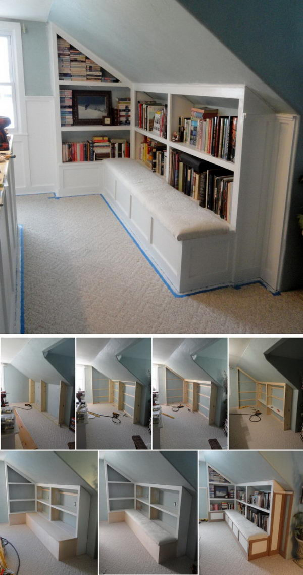 Build a Library with a Reading Bench.