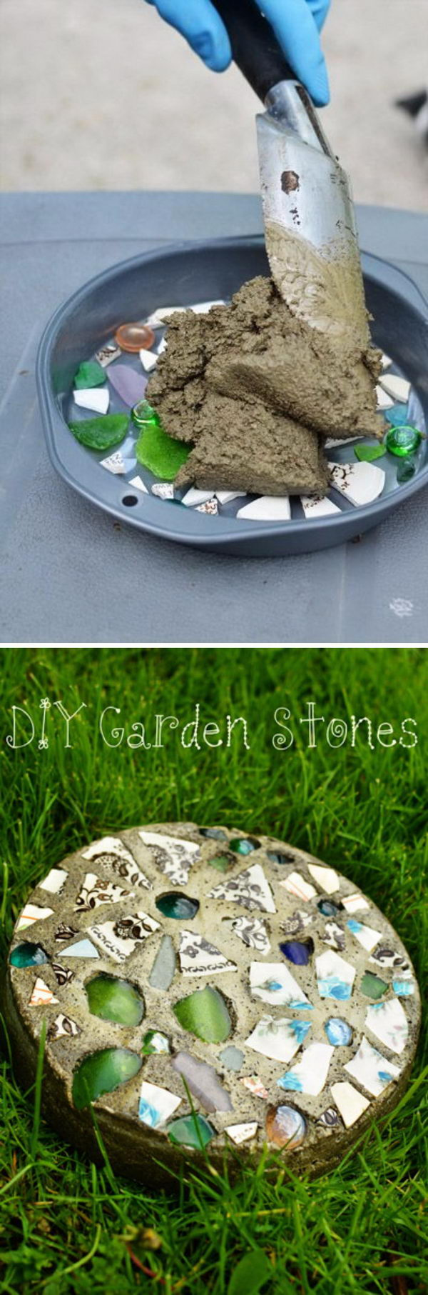 20  concrete diy projects to beautify your garden