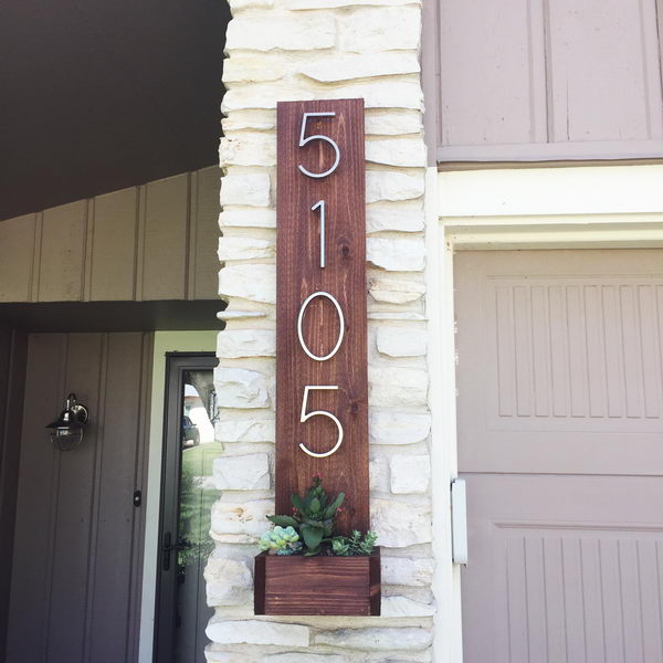 Build an Address Display with a Planter.