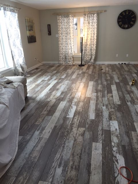 Barn Wood Flooring - 30+ Awesome Flooring Ideas For Every Room - Hative