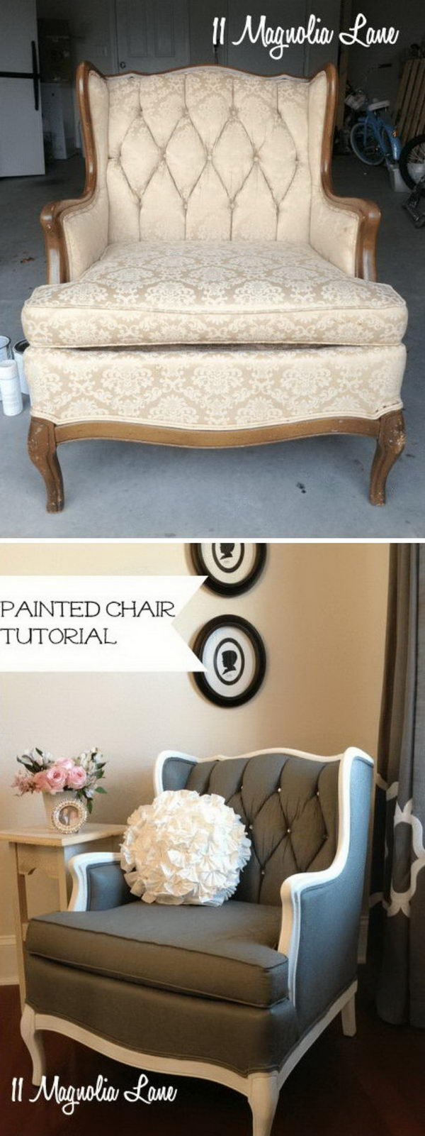 Completely Transform a Chair with Paint.