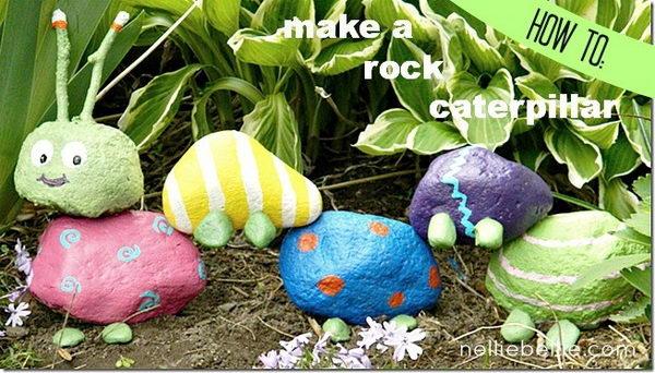Garden Rock Caterpillar.