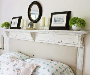 30+ Rustic Wood Headboard DIY Ideas