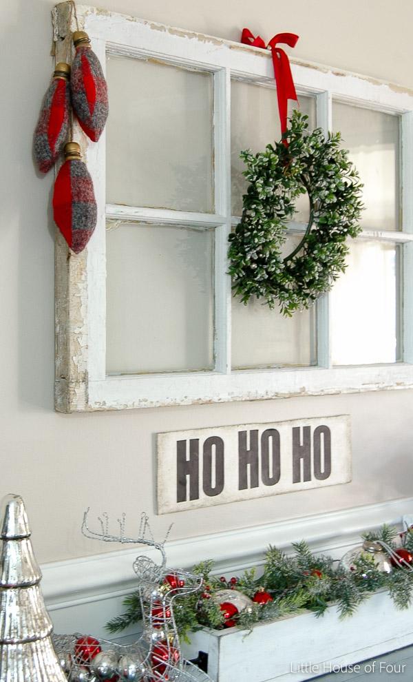 DIY Flannel Christmas Bulbs.