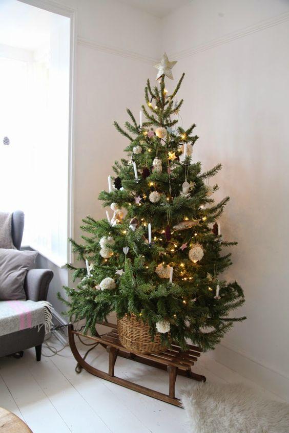 christmas tree on a sleigh - Where To Buy Cheap Christmas Tree