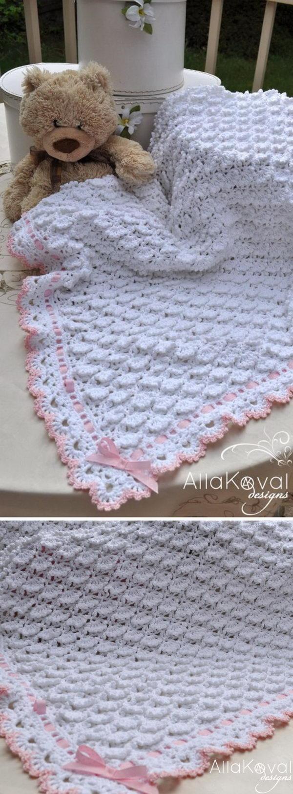 Free Baby Blanket Crochet Pattern.