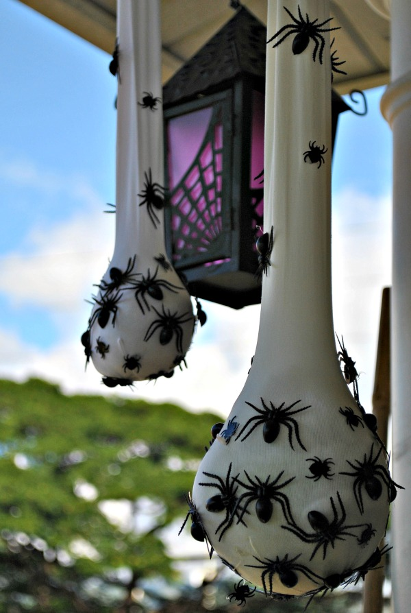DIY Spider Sacs.