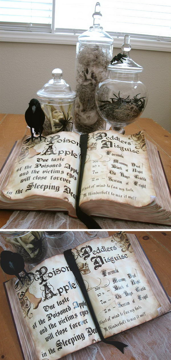 DIY Spell Book.