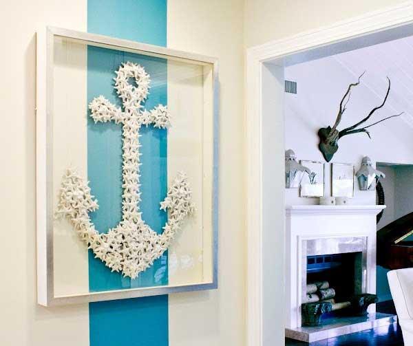 Starfish Anchor Wall Art.