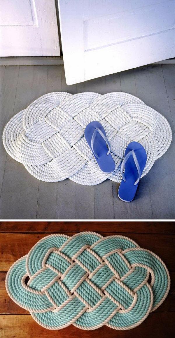 Nautical Rope Rug.