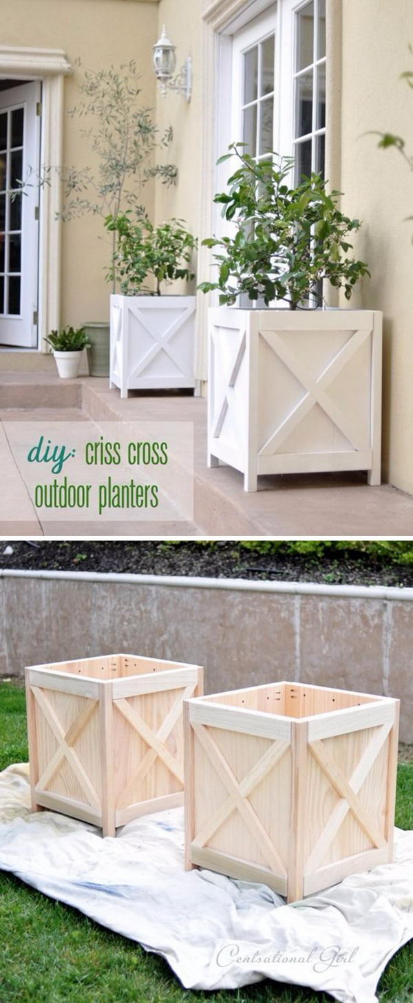 planter to a box make build how wooden