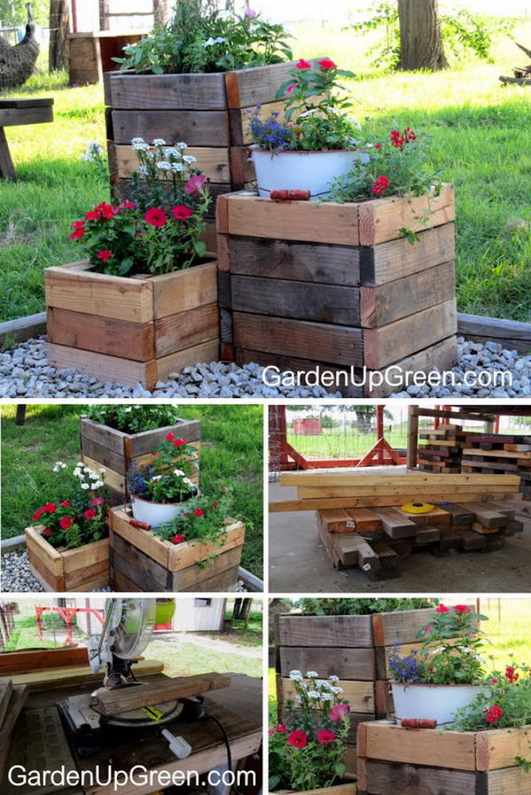 Wooden Pallet Planter Box on wooden pallet shadow box, diy planters box, diy pallet box, pallet garden box, cardboard planter box, old pallet planter box, wooden pyramid planter diy, wooden car planter box, wooden garden planter box, wooden pallet storage box, plywood planter box, timber planter box, crate planter box, glass planter box, wooden pallet flower planter, wooden window planter box,
